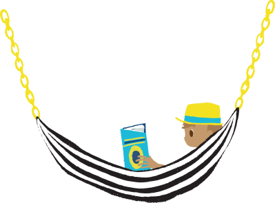 hammock book day